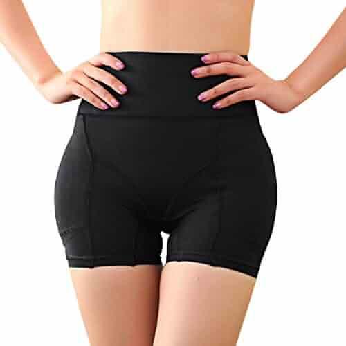 8f4c4e12d Defitshape Women s Butt Lifter Shapewear Panties Padded High Waist Hip  Enhancer Shaper Panty