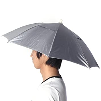 Fishiing cubo sombreros plegable deportes al aire libre Golf Pesca Caza Camping sol paraguas sombrero paraguas