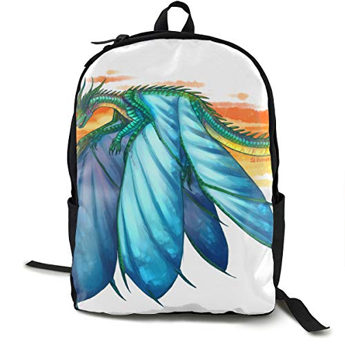 Win_gs Of Fire Classic Backpack Book-Bag Laptop Bag School Bag ()