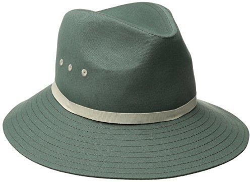 Goorin Bros. Women's Breakwater Beach Wide Brim Cotton Hat, Slate Large