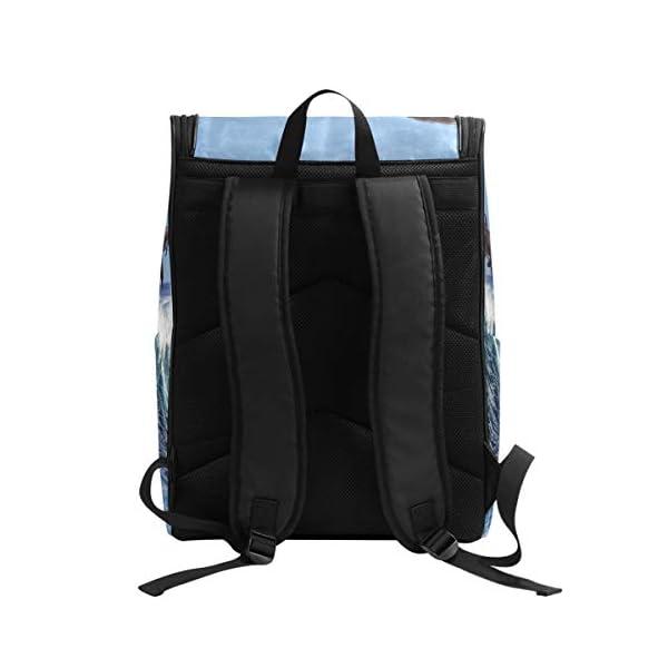 DXG1 - Zaino per donne e uomini, ragazzi, balene oceaniche, borsa alla moda, borsa da viaggio, università, casual, per… 2 spesavip