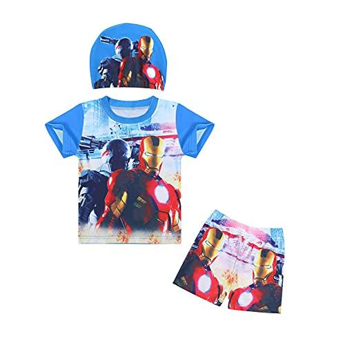 Cosplay Spiderman Kid Badpak Kinderen Zwemmen Zon Kostuum Avenger Boy Cartoon Badmode Korte Mouw Surfsuit Meisje Rash…