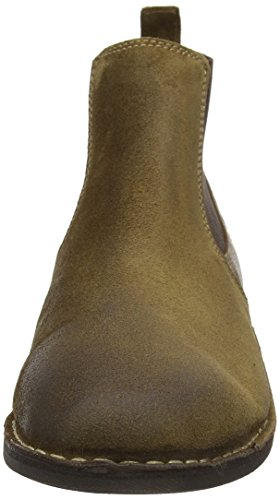 FLY London Wazi938fly, Botas Chelsea para Hombre Marrón (Sand/Brown 002)