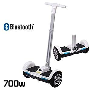 Scooter eléctrico Smart Balance, 2 ruedas, con manillar Smart autoequilibrado, con Bluetooth, 700 W