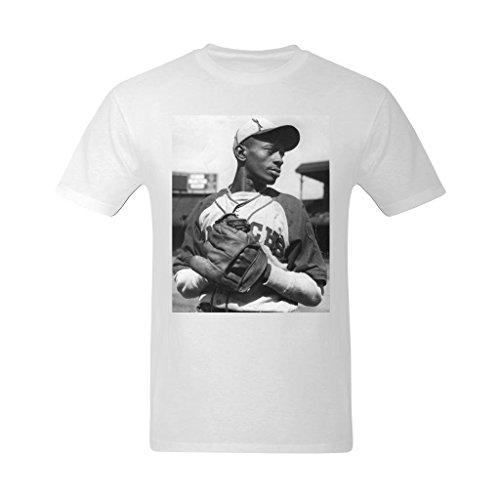 - Nehasigo Men's Satchel Paige Image Design T-shirts