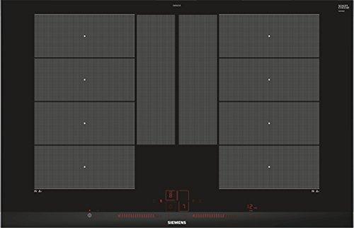 Siemens ex875lyc1e iQ700 hobs eléctrico/vitrocerámica/vidrio y cerámica/81,2 cm/Power Boost Función/Negro