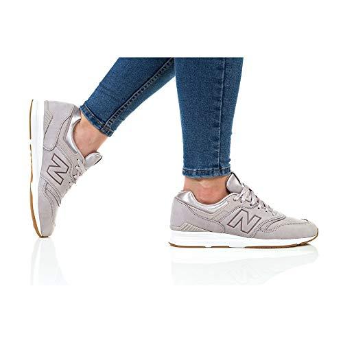 Femme New De Style Baskets Vie Beige Wl697 Balance EErxFq1