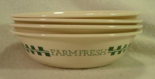 beige corelle bowls - 5