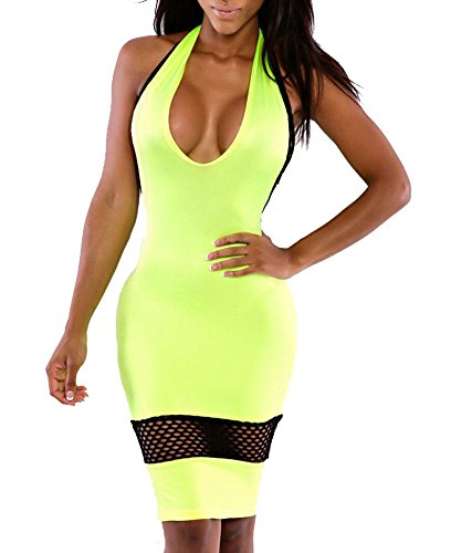 Womens Halter Bodycon Bandage Pencil product image