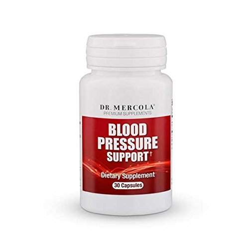 Dr Mercola Blood Pressure Support - 30 Capsules - Contains Bioactive Grape Seed Extract - Packed With Polyphenols - Premium Dietary Supplement