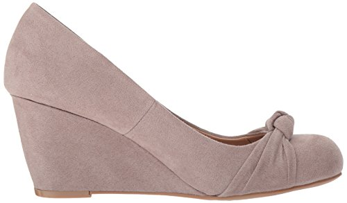 Women's Laundry Pebble Chinese Wedge by Pump Nerin CL Suede Taupe Etqv7xx