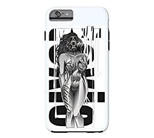 Toxic Girl #1 iPhone 6 Plus Alice blue Tough Phone Case - Design By Humans