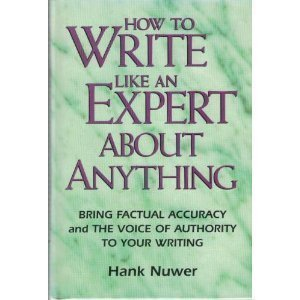 How to Write Like an Expert About Anything