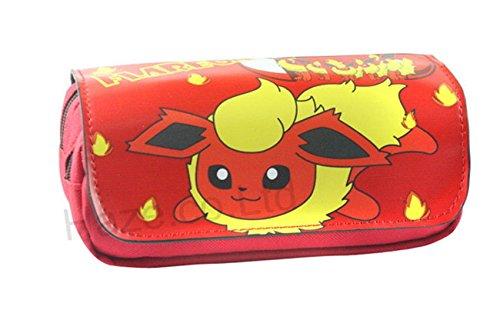 Estuches Material escolar Portatodo doble Pokemon Pikachu (Backpack)