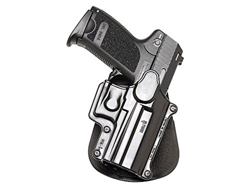 Fobus Paddle Holster Fits H&K Compact/USP 9mm/40/45/Sigma Series/FN49/Ruger SR9, Right Hand, Black (Hk Usp Holsters)