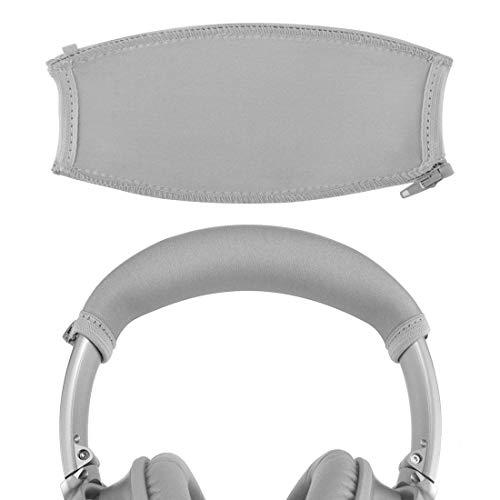 Headband Cover for Bose QuietComfort QC35, QC25 Headphones / Headband Protector / Replacement Headband Cushion Pad Repair Parts / Easy DIY installation No Tool Needed (Gray)