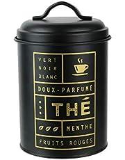 Cook Concept Box, metall, svart guld, en storlek