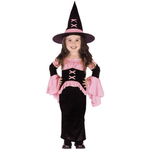 Pretty Pink Witch Costume - Toddler Costume by Fun World Costumes (2)
