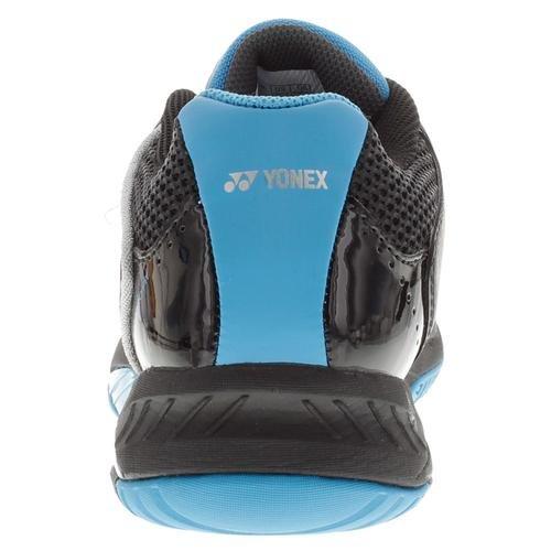 メンズPower Cushion Fusion REVテニス靴ブラックとスカイブルー