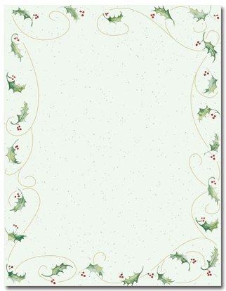 Stationery Holiday (Holly Bunch Holiday Stationery - 80 Sheets)