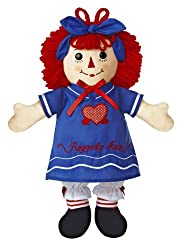 Aurora World Raggedy Ann Fun In The Sun Doll, 16""