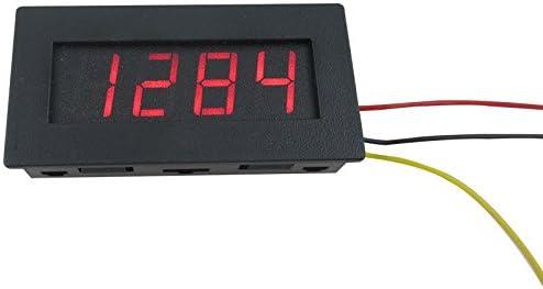 4 Digital Car Motor Tachometer Speed Measure Meter panel 5-9999 RPM LED Display