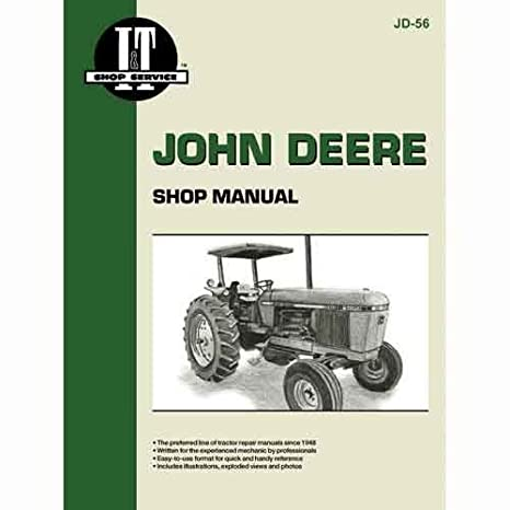 Amazon Com All States Ag Parts I T Shop Manual John Deere 2940 2940