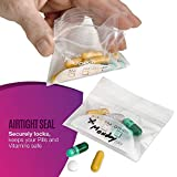 "Pill Pouch Bags - (Pack of 400) 3"" x 2.75"" - BPA"