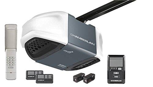 Chamberlain B730/WD962 Garage Door Opener Ultra-Quiet Belt Drive, 3/4 HPS with Battery Backup