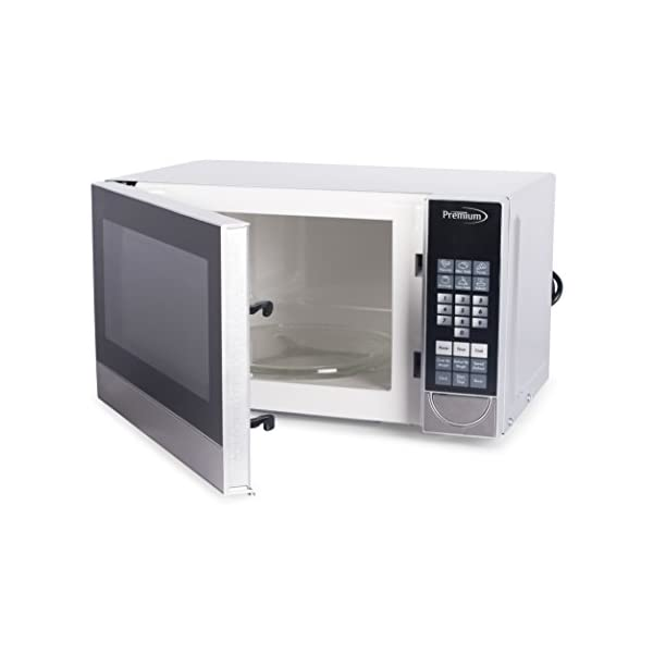 Premium PM70710 0.7 Cu. Ft. Counter Top Microwave Oven, Stainless Steel 3