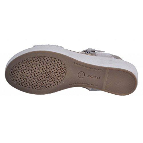 Sandalias y chanclas para mujer, color gris , marca GEOX, modelo Sandalias Y Chanclas Para Mujer GEOX D JALIA B Gris gris