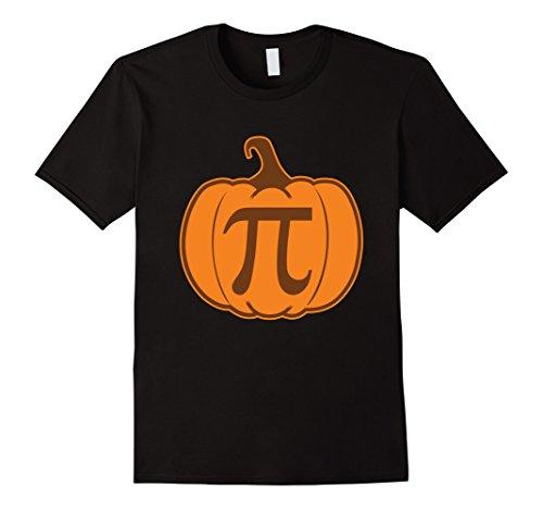 Mens Funny Pumpkin Pi T-Shirt Play On Words Math Tee 3XL Black (Halloween Costumes Play On Words)
