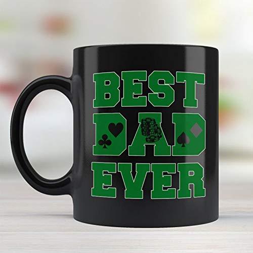 Poker player Dad best dad ever mug fathers day 2019 gift ideas dad coffee mug Customized Mug Size 11oz or 15oz