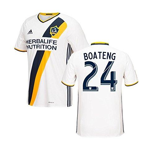 チャンバー広がり問い合わせAdidas BOATENG #24 LA Galaxy Home Women's Jersey 2016 (Authentic name & number) /サッカーユニフォーム ロサンゼルス?ギャラクシー ホーム用 ボアテング レディース向け