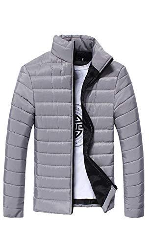 Éclair D'Hiver Longues Capuche À À À Coupe Fermeture Manteau Avec Vent Retro Manteau Grau Manches UOFHwqOx