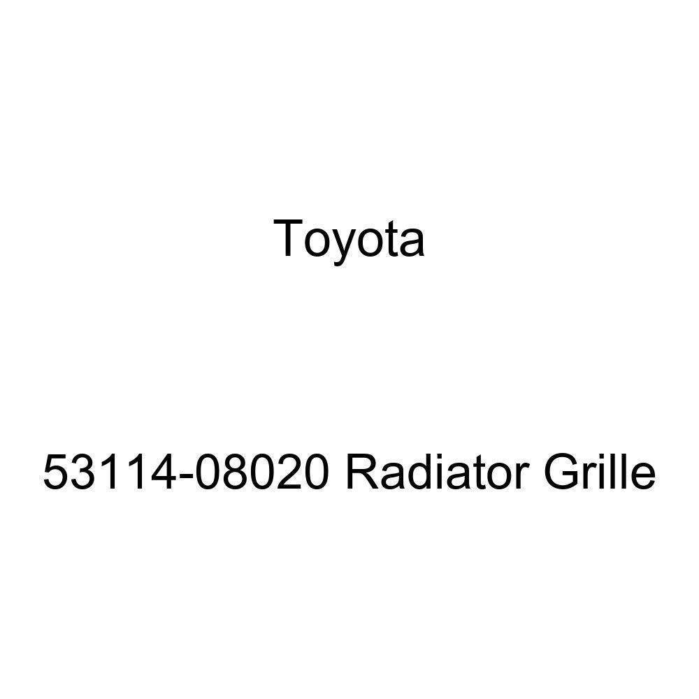 Genuine Toyota 53114-08020 Radiator Grille