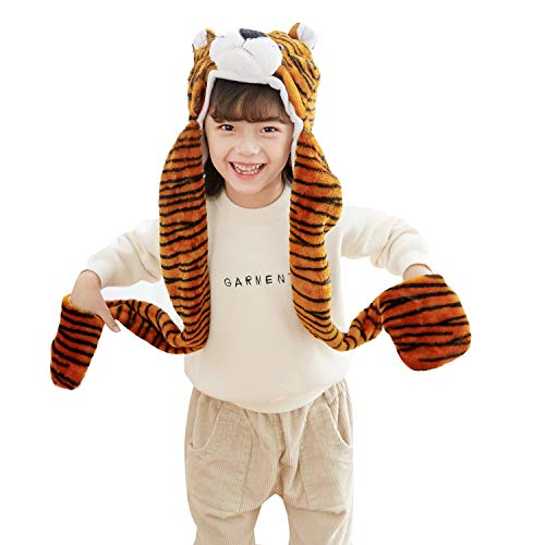 PULAMA Varied Animal Hats Gloves Scarf 3 In