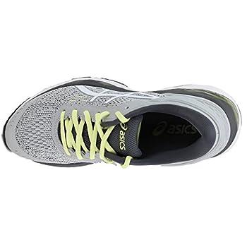Asics Womens Gel-kayano 24 Glacier Greywhitecarbon Running Shoe - 10 5