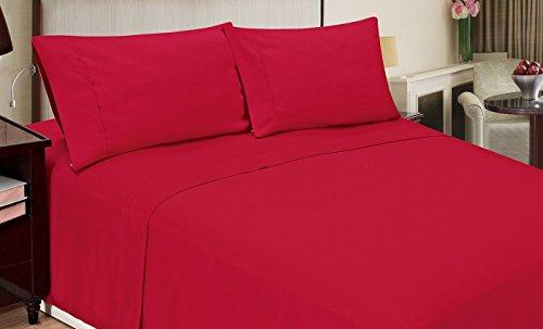 - Home Dynamix JMFS-200 4-Piece Jill Morgan Fashion Bed Set, Full, Red