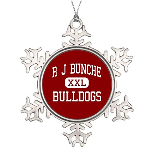 Stained Glass Bulldogs - Boyce22Par Xmas Trees Decorated Bulldogs R J Bunche - Bulldogs - Middle - Metairie Stained Glass Snowflake Ornaments