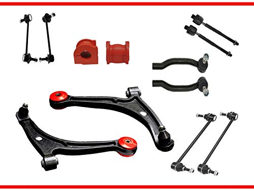 12PC Complete Front Rear Suspension Kit with Control Arm for Acura MDX Honda Pilot Suspension Kit