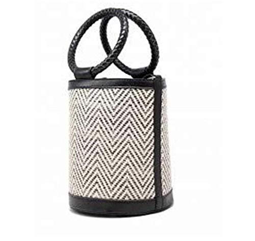 Braided Black Tom Bag amp; Bucket Eva qXxwawEUg