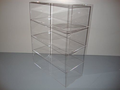 Acrylic Lucite Countertop Display Case Showcase Box Cabinet 12'' X 6'' X 16'' by Marketing Holders (Image #1)