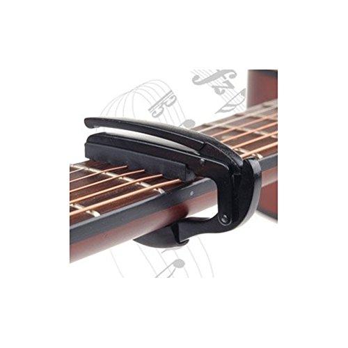 Capo Pour Guitare /Électrique Acoustique Tuba D/éclenchement Rapide by DELIAWINTERFEL