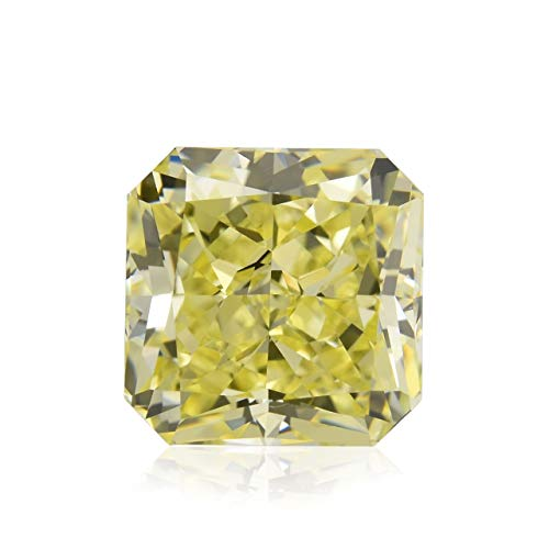 1.78Cts Fancy Yellow Loose Diamond Natural Color Radiant Cut GIA Certified