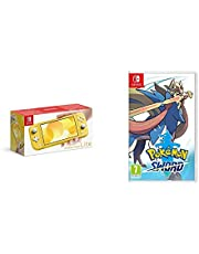 Nintendo Switch Lite - Yellow + Pokemon Sword
