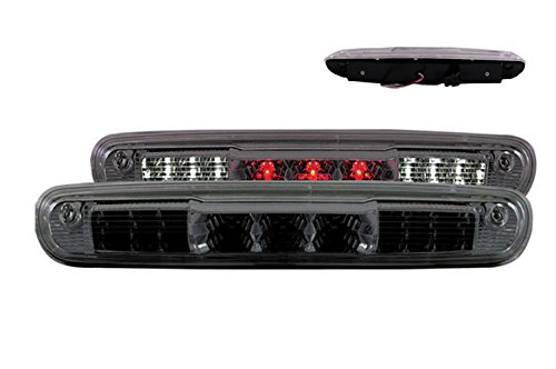 SPPC Smoke LED 3rd Brake Lights For Chevy Silverado : GMC Sierra - Cargo Tail (Lamps Chevy)