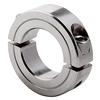 SS 1 1//8 ID Stainless Split Clamp Collar G2SC-112-SS