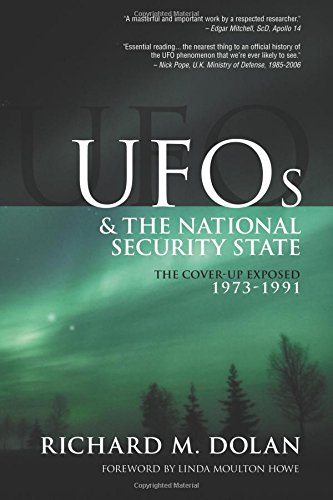 Ufos And The National Security State  The Cover Up Exposed  1973 1991