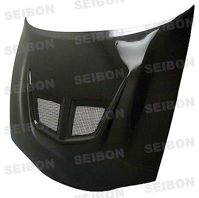 SEIBON 95-99 Eclipse Carbon Fiber Hood EVO 4G63/2G 97
